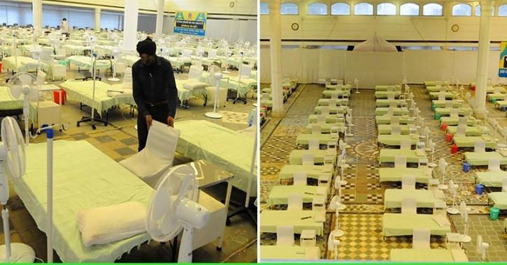 Gurudwara Rakab Ganj Sets Up 250-Bed Covid Facility