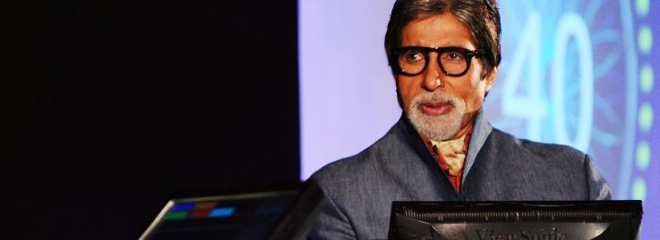 Amitabh Bachchan on KBC